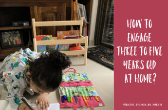 Eight different ways to engage toddlers at home.